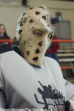 Worst to First Jerseys: Calgary Flames (Redux) Hockey By Old fashioned hockey mask