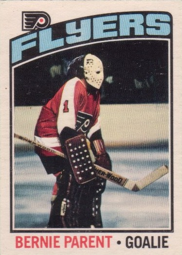 Bernie Parent ruled the goalie world in '74 and '75
